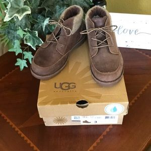 IOB UGG Orin Chocolate Wool Short Boots